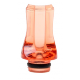 Drip-Tip Extra Plat Rouge