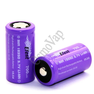 EFEST 18350 IMR Purple 700 mAh 3.7 V